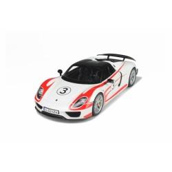Porsche 918 Spyder Weissach Package 2012 Blanche GT Spirit GT078 1/12