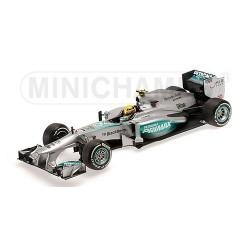 Mercedes W04 F1 Malaisie 2013 Lewis Hamilton Minichamps 110130110