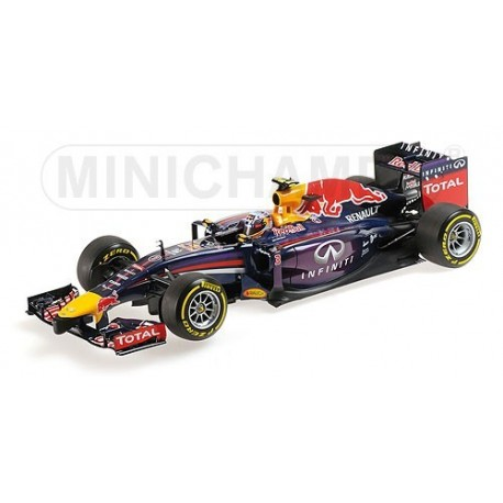 Red Bull Renault RB10 F1 2014 Daniel Ricciardo Minichamps 110140003