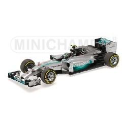 Mercedes F1 W05 F1 Abu Dhabi 2014 Nico Rosberg Minichamps 110140406