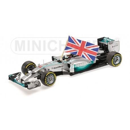 Mercedes F1 W05 F1 Abu Dhabi 2014 Lewis Hamilton Minichamps 110140544