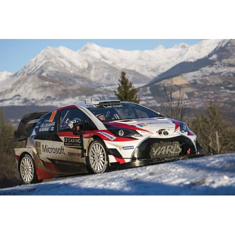 toyota yaris wrc 10 rallye monte carlo 2017 latvala anttila ixo ram647 miniatures minichamps. Black Bedroom Furniture Sets. Home Design Ideas