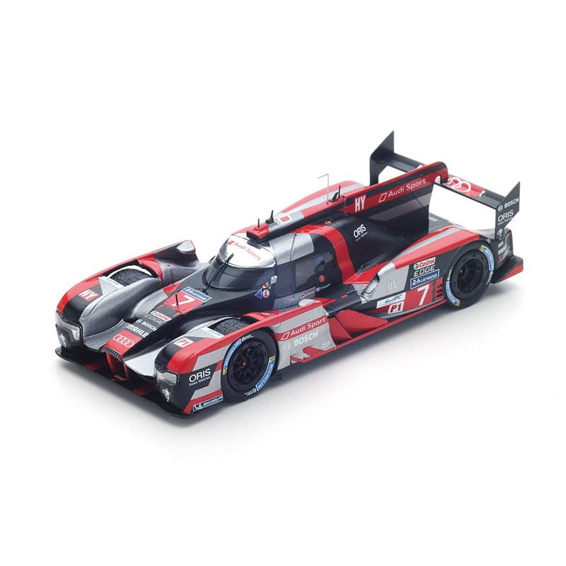 audi r18 7 24 heures du mans 2016 spark s5104 miniatures minichamps. Black Bedroom Furniture Sets. Home Design Ideas