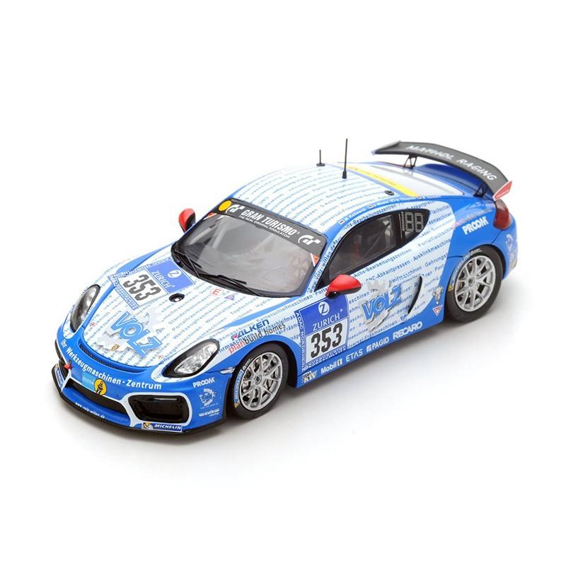 Porsche Cayman GT4 353 24 Heures Du Nurburgring 2016 Spark