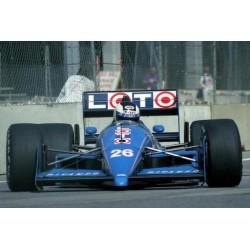 Ligier JS31 26 F1 1988 Stefan Johansson Spark S3969