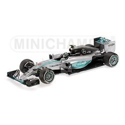 Mercedes W06 Hybrid F1 2015 Nico Rosberg Minichamps 110150006