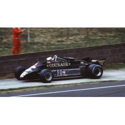Lotus 87 12 F1 Angleterre 1981 Nigel Mansell Spark S5351