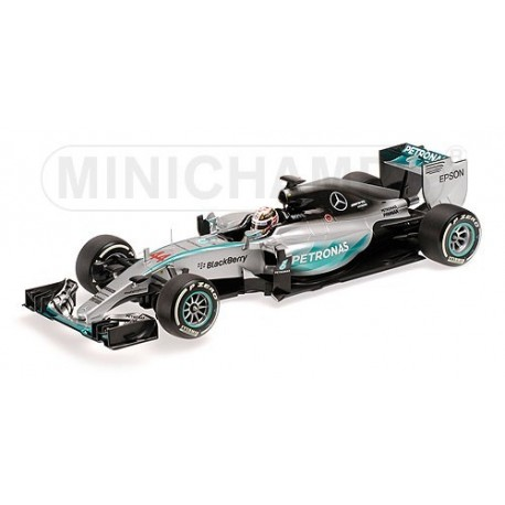 Mercedes W06 Hybrid F1 2015 Lewis Hamilton Minichamps 110150044