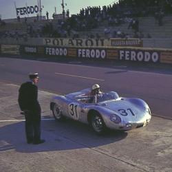 Porsche 718 RSK 31 24 Heures du Mans 1959 Spark S4676