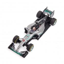Mercedes F1 W07 Hybrid 44 F1 Abu Dhabi 2016 Lewis Hamilton Minichamps 417160744