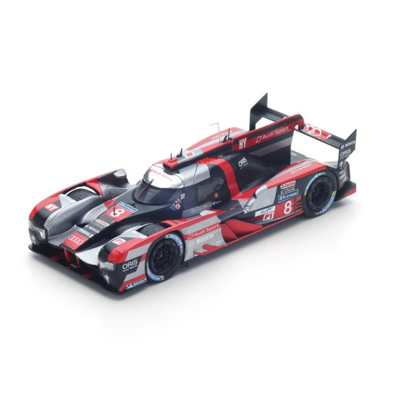 audi r18 8 24 heures du mans 2016 spark s5105 miniatures minichamps. Black Bedroom Furniture Sets. Home Design Ideas
