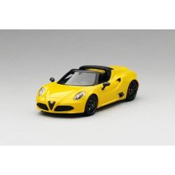 Alfa Romeo 4C Spider Giallo Prototipo Truescale TSM164383
