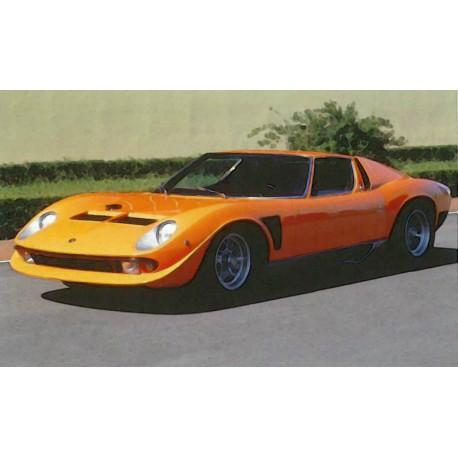 Lamborghini Miura Svj Orange S N 4088 1968 Looksmart Lsmh09