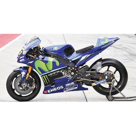 Yamaha yzr m1 46 moto gp 2017 valentino rossi minichamps for Yamaha m1 for sale