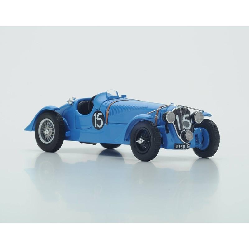 delahaye 135s 15 winner 24 heures du mans 1938 spark s43lm38 miniatures minichamps. Black Bedroom Furniture Sets. Home Design Ideas