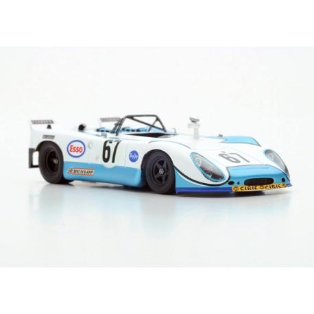 Porsche 908/2 67 24 Heures du Mans 1972 Spark S1982