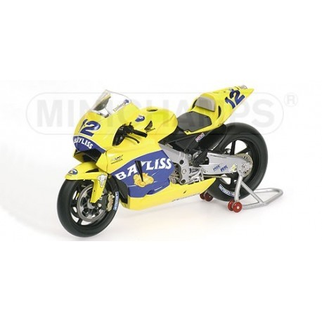 Honda RC211V Moto GP 2005 Troy Bayliss Minichamps 122051012