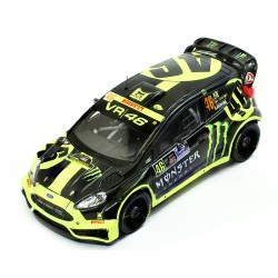 Ford Fiesta RS WRC 46 Monza Rally 2014 Valentino Rossi IXO RAM603