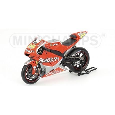 Yamaha YZR M1 Moto GP 2005 Toni Elias Minichamps 122053024