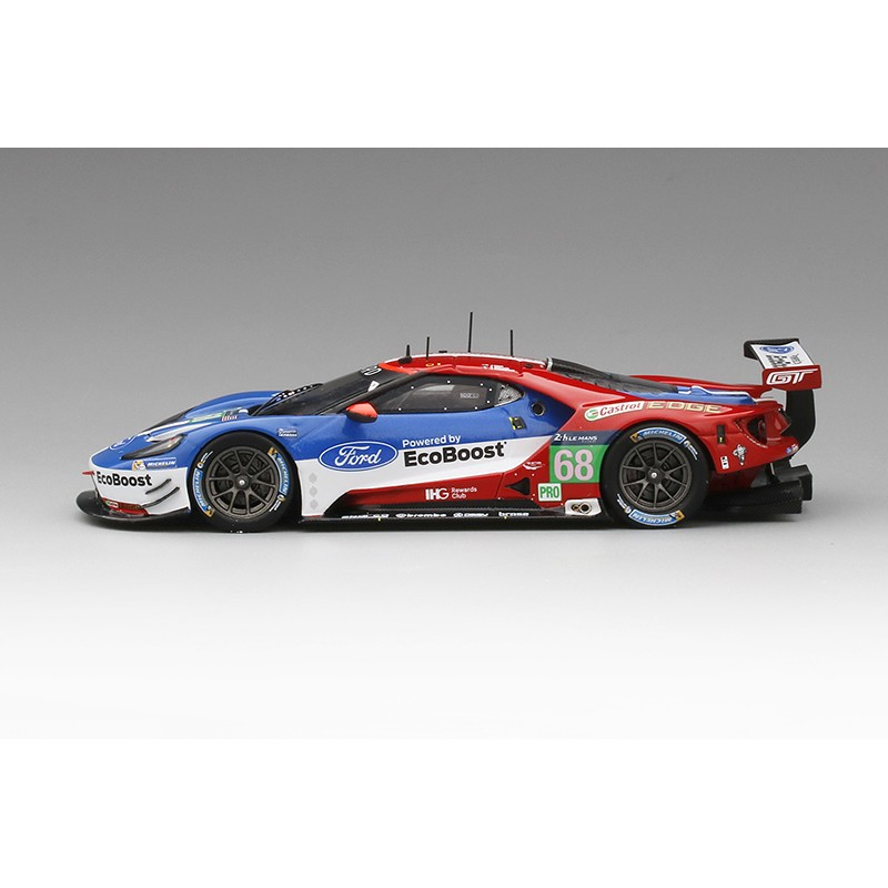 ford gt 68 24 heures du mans 2016 truescale tsm430108 miniatures minichamps. Black Bedroom Furniture Sets. Home Design Ideas