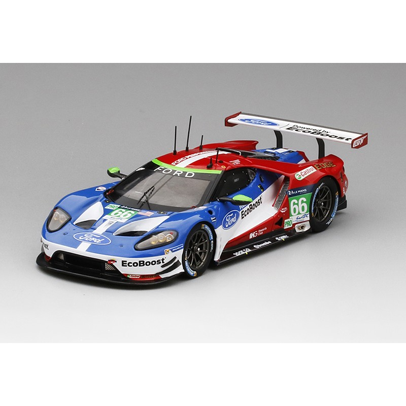 ford gt 66 24 heures du mans 2016 truescale tsm430106 miniatures minichamps. Black Bedroom Furniture Sets. Home Design Ideas