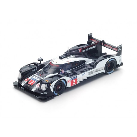 porsche 919 hybrid 2 winner 24 heures du mans 2016 spark. Black Bedroom Furniture Sets. Home Design Ideas