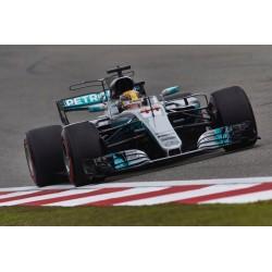 Mercedes AMG Petronas W08 EQ Power+ F1 Chine 2017 Lewis Hamilton Spark 18S300