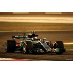 Mercedes AMG Petronas W08 EQ Power+ F1 Russie 2017 Valtteri Bottas Spark 18S301
