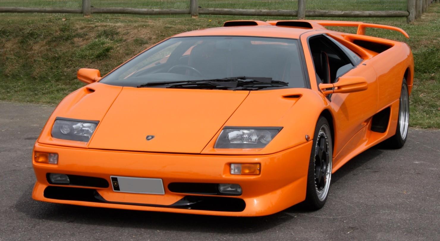 Lamborghini Diablo Sv Orange 1999 Looksmart Lsdh07 Miniatures