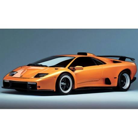 Lamborghini Diablo Gt Orange 1999 Looksmart Lsdh010 Miniatures