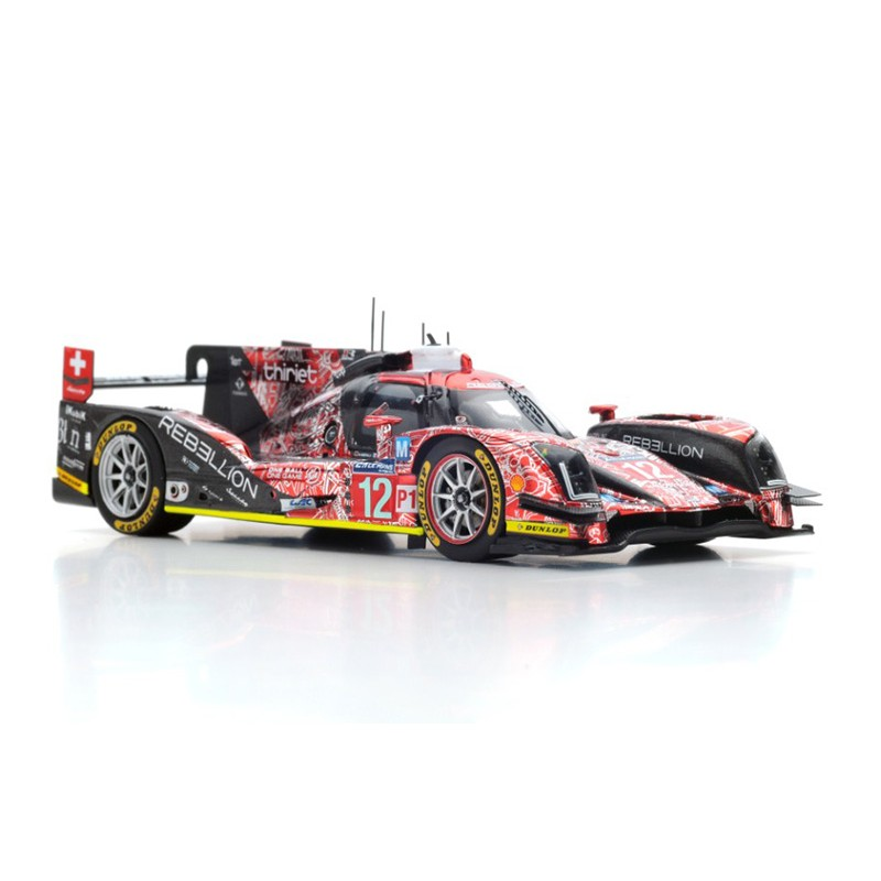 rebellion r one aer 12 24 heures du mans 2016 spark s5106 miniatures minichamps. Black Bedroom Furniture Sets. Home Design Ideas