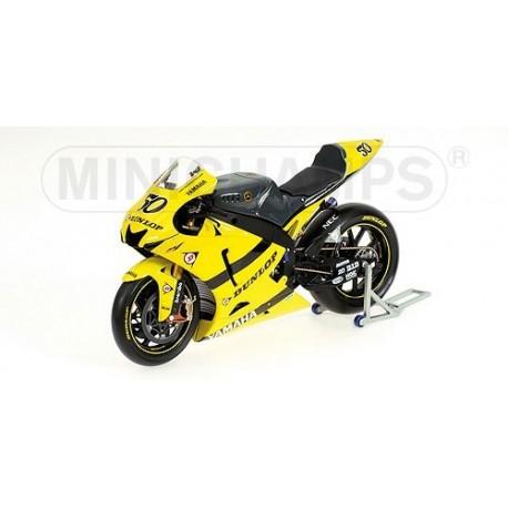 Yamaha YZR M1 Moto GP 2007 Sylvain Guintoli Minichamps 122073050