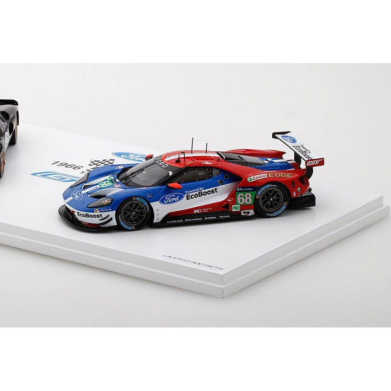 coffret ford gt le mans 50 me anniversaire 1966 2016 truescale tsm430183 miniatures minichamps. Black Bedroom Furniture Sets. Home Design Ideas