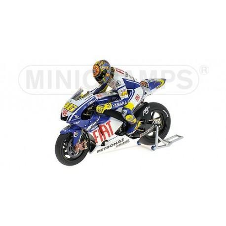 Yamaha YZR-M1 Moto GP Valencia 2009 Valentino Rossi Minichamps 122093076