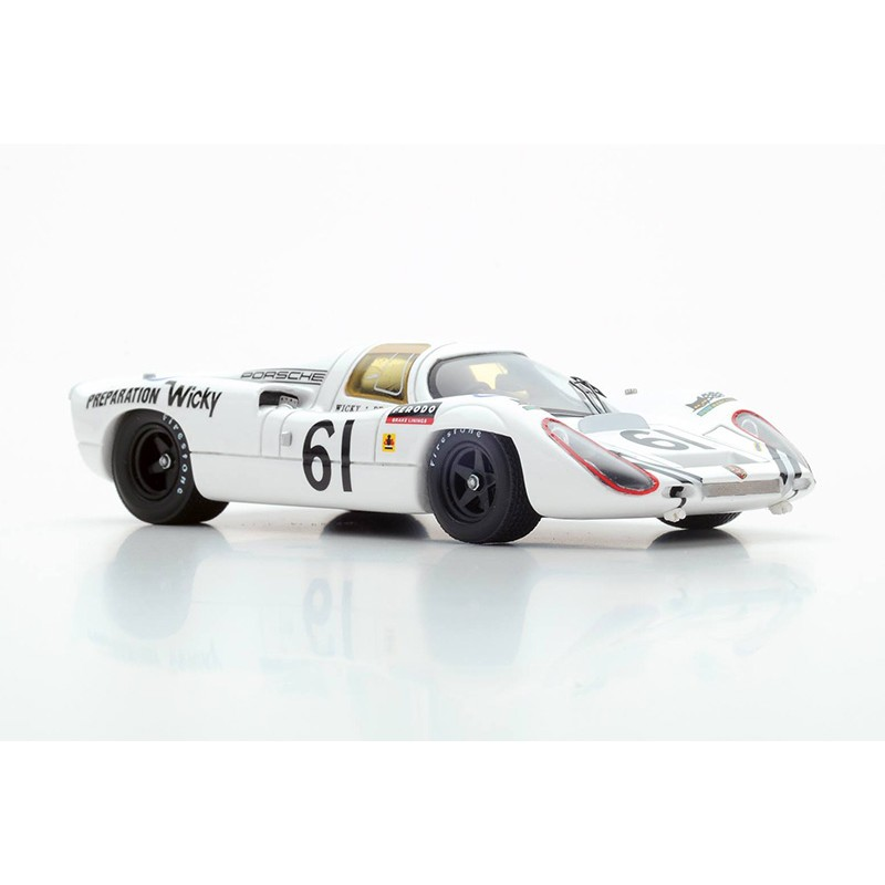 porsche 907 61 24 heures du mans 1970 spark s4745 miniatures minichamps. Black Bedroom Furniture Sets. Home Design Ideas