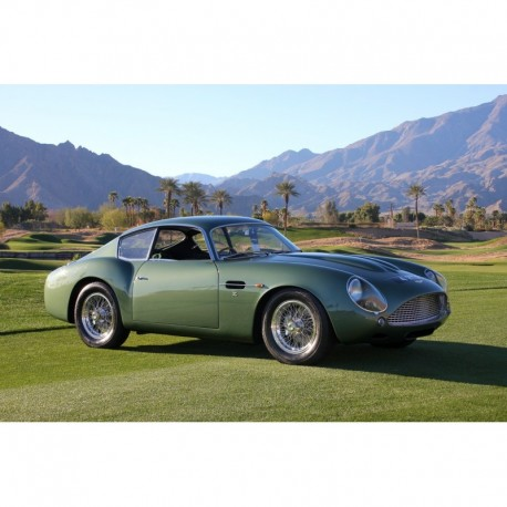 Aston Martin DB4 GT Zagato 1961 Goodwood Green CMC M150