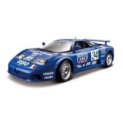 Bugatti EB 110 34 24 Heures du Mans 1994 Bburago 11039BL