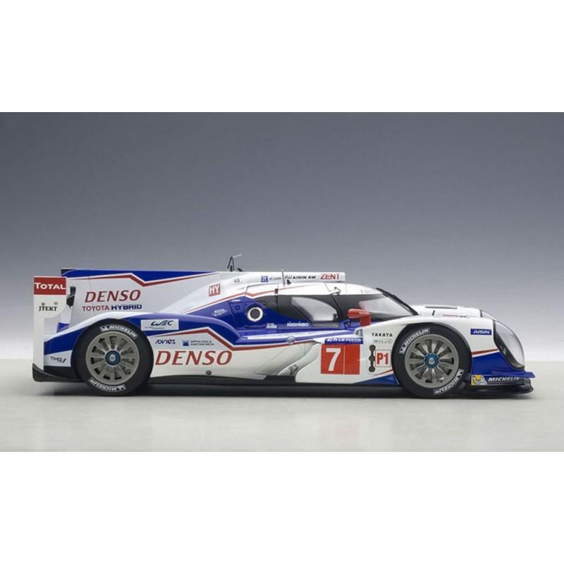 Toyota Ts040 Hybrid 7 24 Heures Du Mans 2015 Autoart 81415