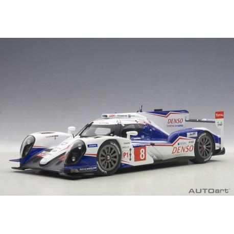 Toyota TS040 Hybrid 8 24 Heures du Mans 2014 Autoart 81416