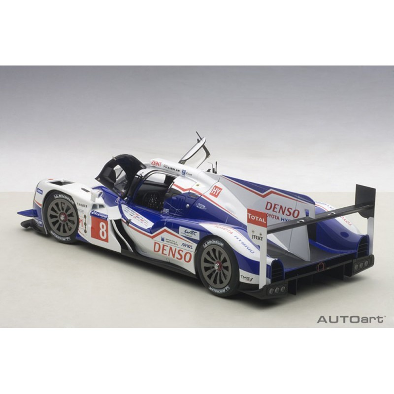 toyota ts040 hybrid 8 24 heures du mans 2014 autoart 81416 miniatures minichamps. Black Bedroom Furniture Sets. Home Design Ideas