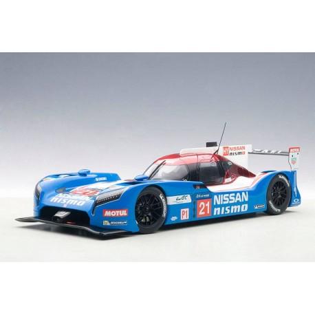 Nissan GT-R LM Nismo 21 24 Heures du Mans 2015 Autoart 81579