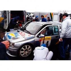 Renault Clio Maxi 14 WRC Monte Carlo 1995 Ragnotti Thimonier IXO RAC155