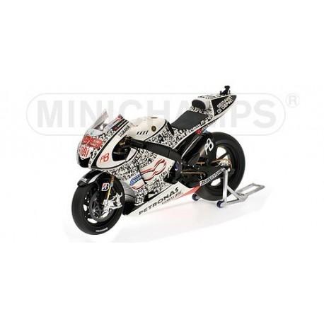Yamaha YZR-M1 Moto GP Laguna Seca 2010 Jorge Lorenzo Minichamps 123103299