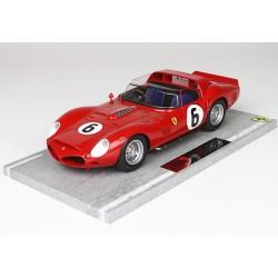 Ferrari 330 TRI 6 24 Heures du Mans 1962 BBR BBRC1803