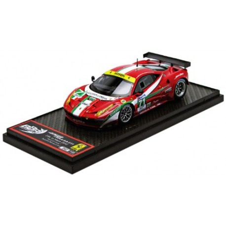 ferrari 458 italia gt2 71 24 heures du mans 2012 bbr bbrc99 miniatures minichamps. Black Bedroom Furniture Sets. Home Design Ideas