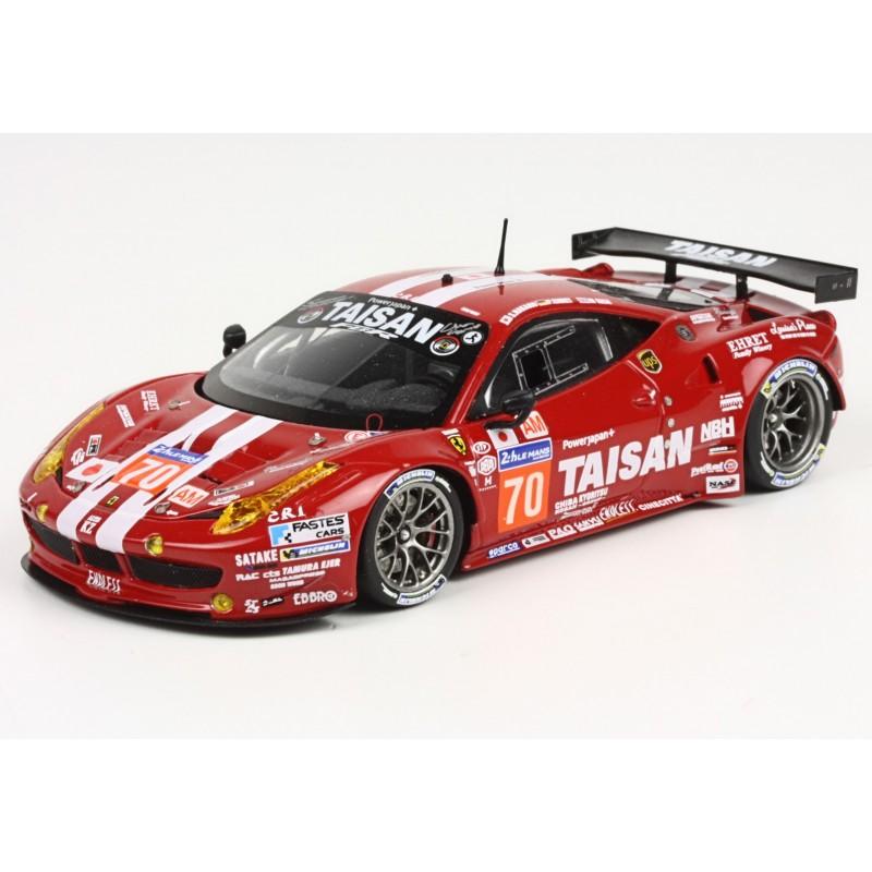 Ferrari 458 Italia LM GTE AM 70 24 Heures Du Mans 2014 BBR