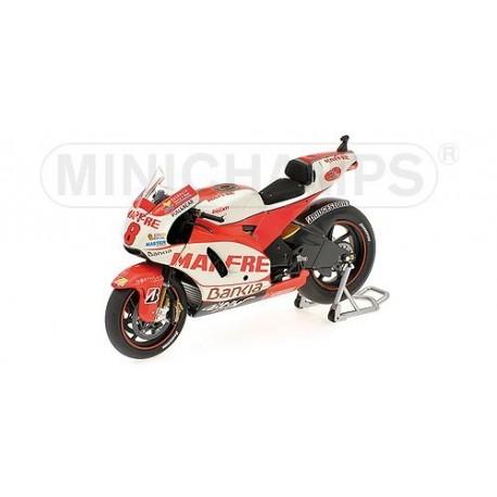 Ducati Desmosedici GP11 Moto GP Qatar 2011 Hector Barbera Minichamps 123110008