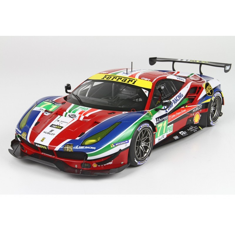 ferrari 488 gte pro 71 24 heures du mans 2016 bbr p18137v miniatures minichamps. Black Bedroom Furniture Sets. Home Design Ideas