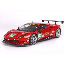 Ferrari 488 GTE Pro 82 24 Heures du Mans 2016 BBR P18138