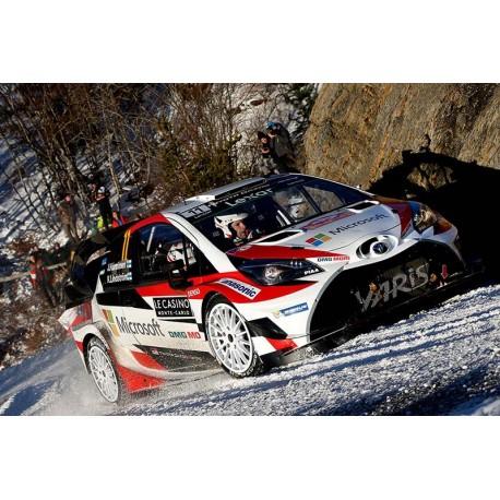 Toyota Yaris WRC 11 Rallye Monte Carlo 2017 Hanninen Lindstrom IXO RAM648